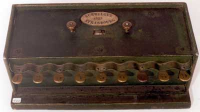 The calculating machine of Schwilgué in Zurich (Courtesy of the Swiss Federal Institute of Technology)