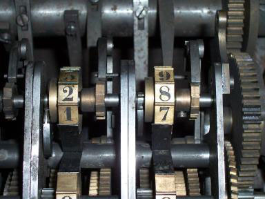 Schwilgué's bigger calculating machine (© Denis Roegel)