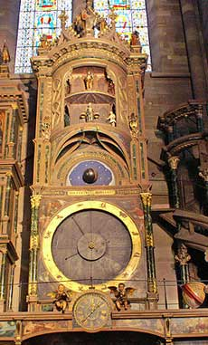 The third astronomical clock of Strasbourg Cathedral