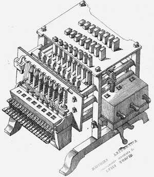The calculating machine of Luiggi Torchi