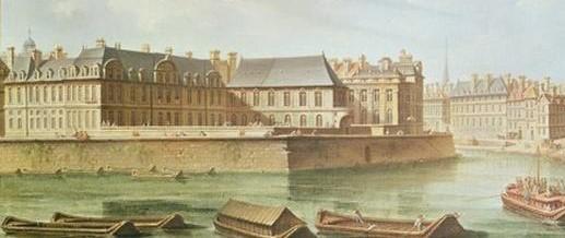 Hotel Bretonvilliers, Ile de St. Louis, Paris, in 1757