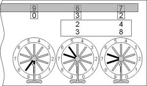 Multiplication with the Pascaline (first phase)