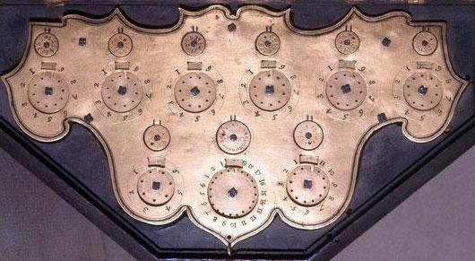 The calculating machine (Ciclografo) of Tito Livio Burattini from 1658