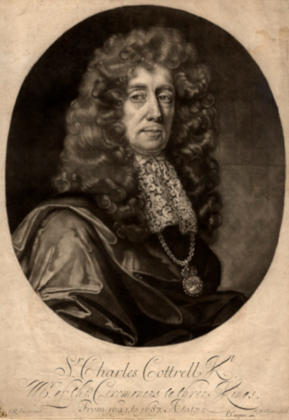 Sir Charles Cotterell by Robert Williams