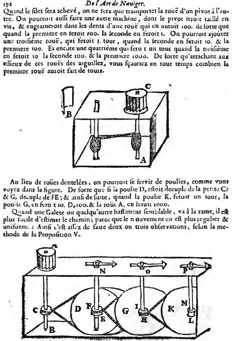 Page 192 from the book L' art de naviger demontré... of Claude Dechales