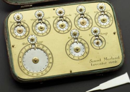 Morland's Adding Machine