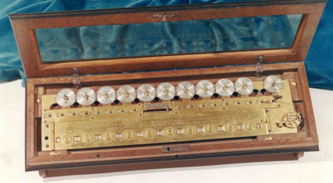 The multiplication machine of Morland (© Museo Galileo, Florence)