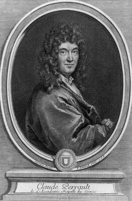 Perrault Portrait By Gerard Edelinck