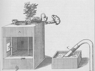 Another automaton of de Caus, a water-driven swan