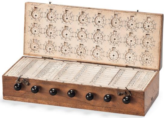 The Nouvelle machine d'arithmétique of René Grillet de Roven