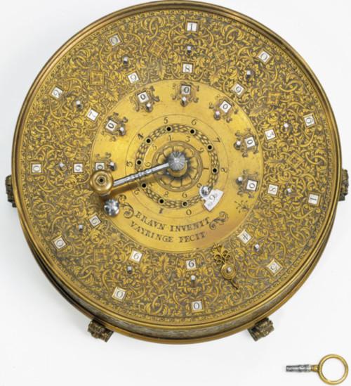 The calculating machine of Leupold-Braun-Vayringe from 1736 (© Deutsches Museum, Munich)