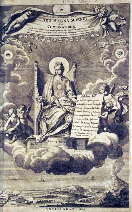 Ars Magna Sciendi, Sive Combinatoria of Kircher
