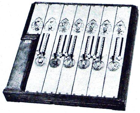 A copy of Gersten's machine in Braunschweigisches Landesmuseum