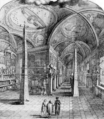 The Museum Kircherianum in Rome