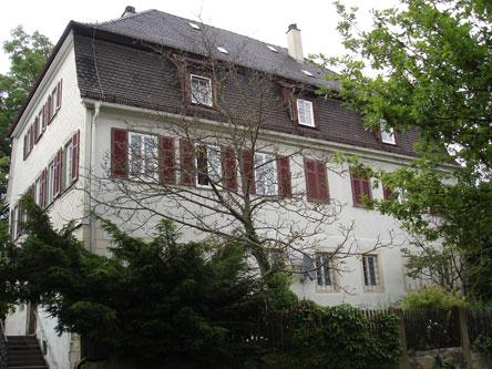 The new Pfarrhaus (rectory) in Kornwestheim, built for Hahn