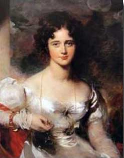 Lady Hester Lucy Stanhope, the eldest child of Charles Stanhope