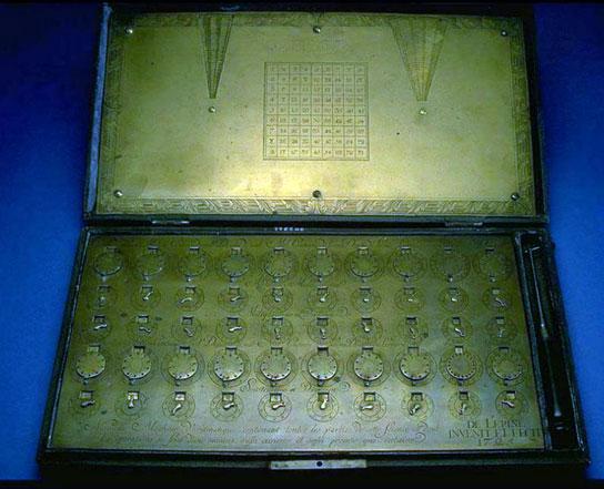 The Arithmetical Machine of Lépine