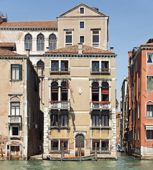 Palazzetto Pisani in Venice Poleni