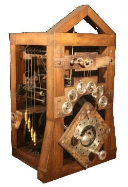 A replica of the calculating machine of Poleni (© Museo Nazionale della Scienza e della Tecnica, Milan)