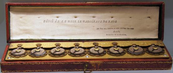 The calculating machine of Jacob Auch (© Württembergisches Landesmuseum Stuttgart)
