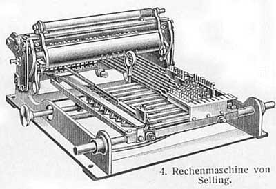 Selling's multiplication machine