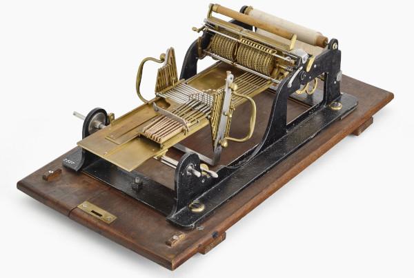 Selling's first multiplication machine (© Deutsches Museum, München)