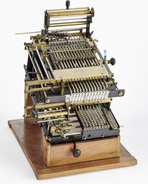Selling's second multiplication machine (© Deutsches Museum, München)