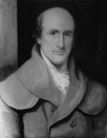 Charles Stanhope, 3rd Earl Stanhope (a painting by Ozias Humphry, 1796, the National Portrait Gallery, London)