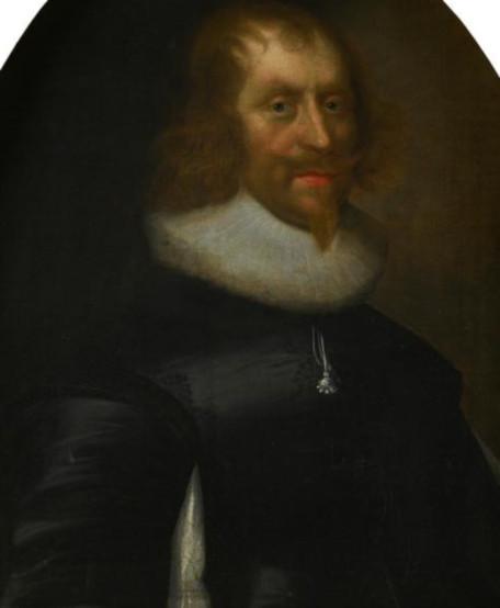 Sir Archibald Napier, 1st Lord Napier, 9th Laird Napier of Merchiston (1576 - 1645). Dated 1637. Artist: George Jamesone