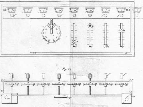 General view from the 1820 patent of Colmar