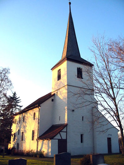 Evangelical-Lutheran Church of St. Kilian in Equarhofen, where Johann Georg Reichold was in service