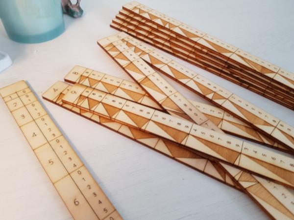 A modern version of Genaille-Lucas rulers