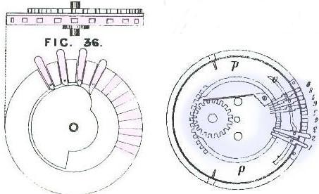 Variable number of teeth (pin-wheel) mechanism of Roth