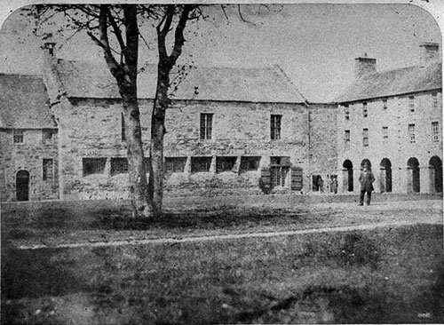 St Salvator College of St Andrews University, photo from 1846