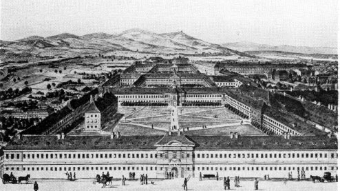 The Medical School in Vienna, situated in the General Hospital, in the beginning of 1800s