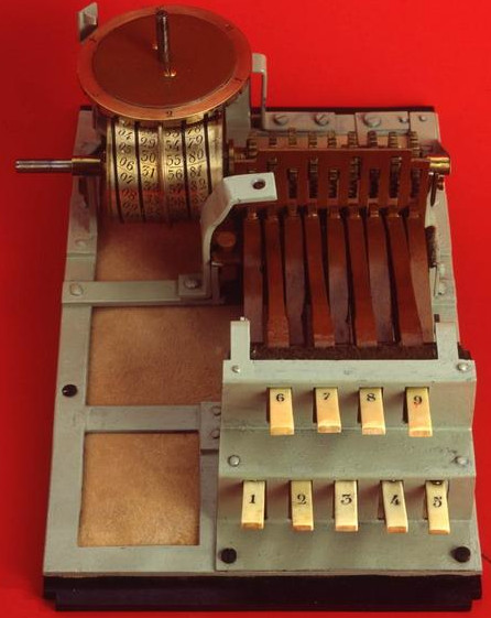Gonnella's Keyboard Adder (Museo Galileo—Florence)
