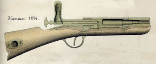 The System Kummer rifle from 1874