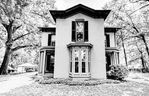 The Castle house built 1866 at 1831 Seminary Street in Upper Alton.