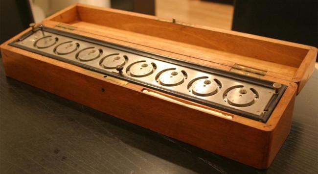Gonnella's Dial Adder (© Arithmeum Museum in Bonn)