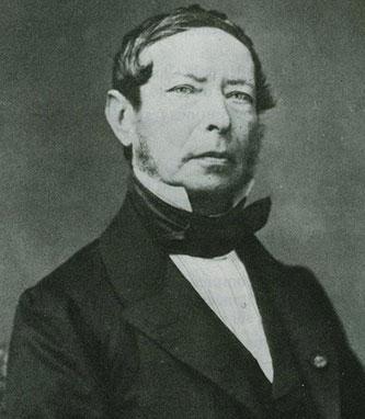 Joseph-Thaddäus Winnerl (1799-1886), the manufacturer of Arithmaurel