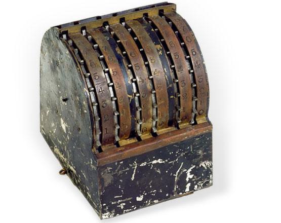 John Ballou's Calculator (© National Museum of American History, Washington)