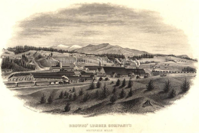Brown's Lumber Company, Whitefield, New Hampshire