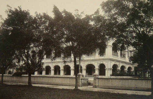 Russel and Co. Canton headquarters c. 1880