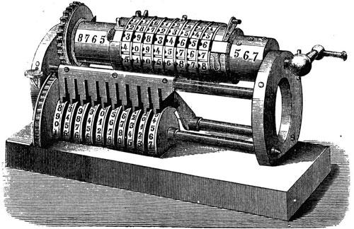 "The ""centennial model"" adding machine of Grant"