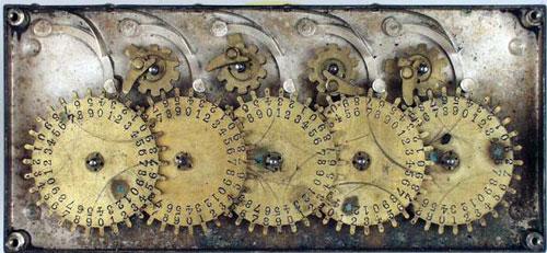 Groesbeck's Calculating Machine (internal view)