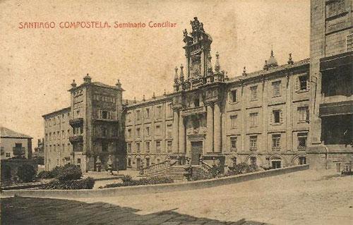 Seminario Conciliar in Santiago de Compostela, the Alma Mater of Ramon Verea