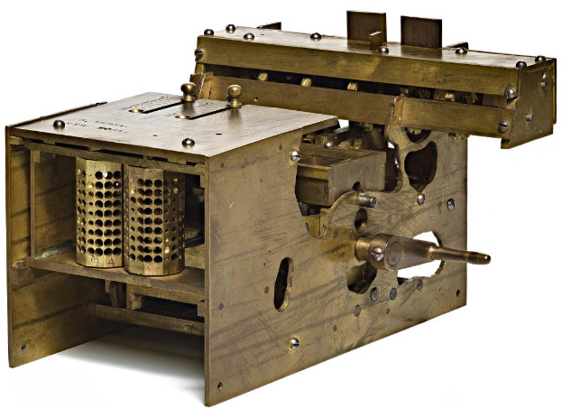 Ramon Verea's calculating machine (Smithsonian Institution)