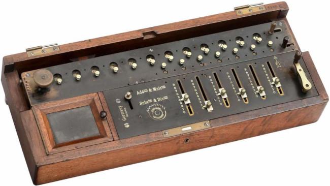 Burkhardt's Model A calculating machine