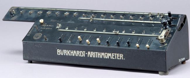 "Burkhardt model ""G"" calculating machine"