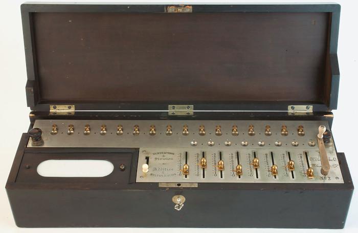 Calculating Machine of Kurt Dietzschold, 1877